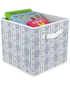 HDS Trading Quatrefoil Collapsible Non-Woven Storage Cube