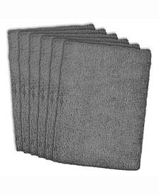 Essential Microfiber Dishtowel, Set of 6