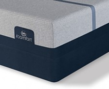 i-Comfort by Serta BLUE Max 1000 13'' Plush Mattress Set- Twin XL