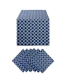 Design Imports Lattice Table Set of 7