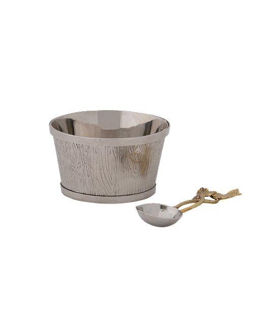Michael Aram Ivy & Oak Nut Dish w/Spoon