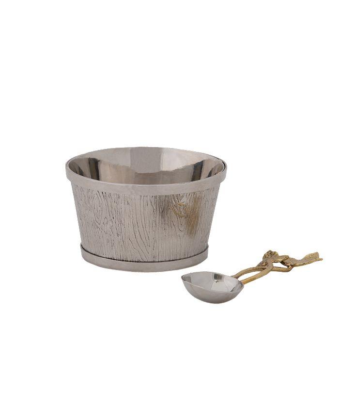 Michael Aram - Ivy & Oak Nut Dish w/Spoon