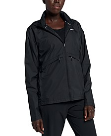 Women's Essential Packable Hooded Running Jacket
