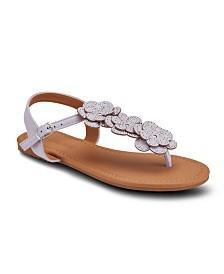 Olivia Miller Love at First Sight Floral Sandals