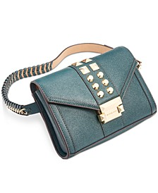 Studded Leather Belt Bag