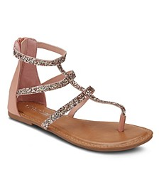 Gluten Free Embellished Sandals