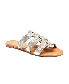 Olivia Miller First Love Embellished Sandals