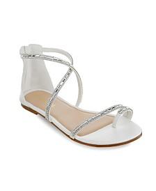 Olivia Miller Richey Multi Rhinestone Sandals