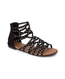 Olivia Miller Kissimmee Rhinestone Studded Sandals