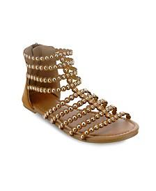 Olivia Miller Altamonte Circle Shape Studded Sandals
