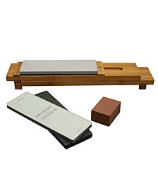 Kramer by Zwilling 6-Px. Glass Water Stone Sharpening Set