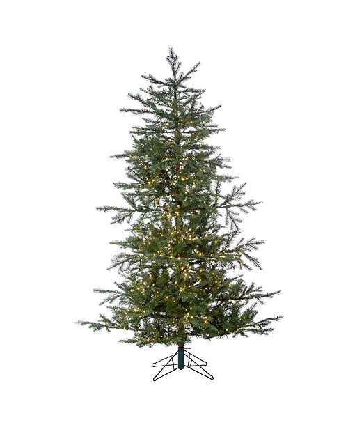 Sterling 6.5-Foot High Pre-Lit Natural Cut Portland Pine with Instant Glow Power Pole Feature