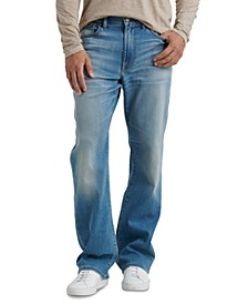 Men's 181 Relaxed-Straight Fit Stretch COOLMAX® Temperature-Regulating Jeans