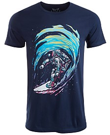 Univibe Men's Outer Surf Graphic T-Shirt