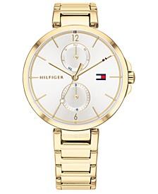 Women's Gold-Tone Stainless Steel Bracelet Watch 36mm