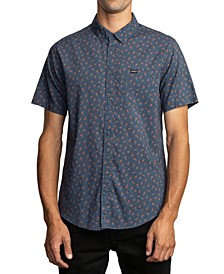Men's Slim-Fit Prelude Floral Short Sleeve Shirt