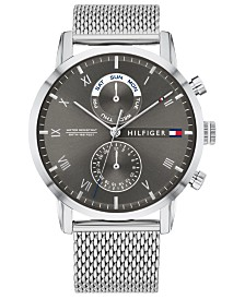 Tommy Hilfiger Men's Stainless Steel Mesh Bracelet Watch 44mm