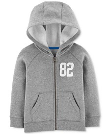 Carter's Toddler Boys Zip-Up Fleece Hoodie