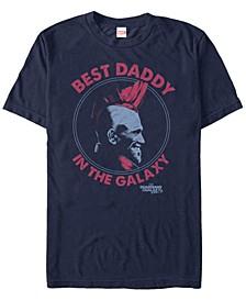 Men's Guardians Vol.2 Yondu The Best Daddy Short Sleeve T-Shirt