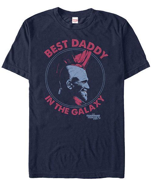 Marvel Men's Guardians Vol.2 Yondu The Best Daddy Short Sleeve T-Shirt