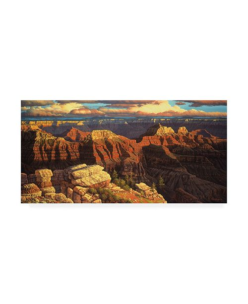 """Trademark Global R W Hedge Surrender to the Ages Canvas Art - 27"""" x 33.5"""""""