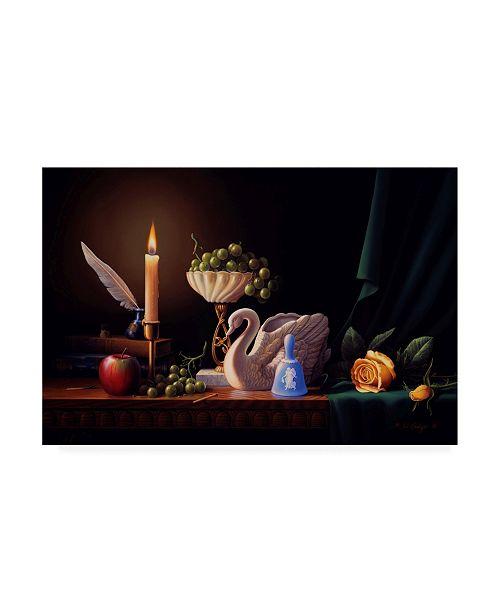 "Trademark Global R W Hedge Silent Grace Canvas Art - 27"" x 33.5"""