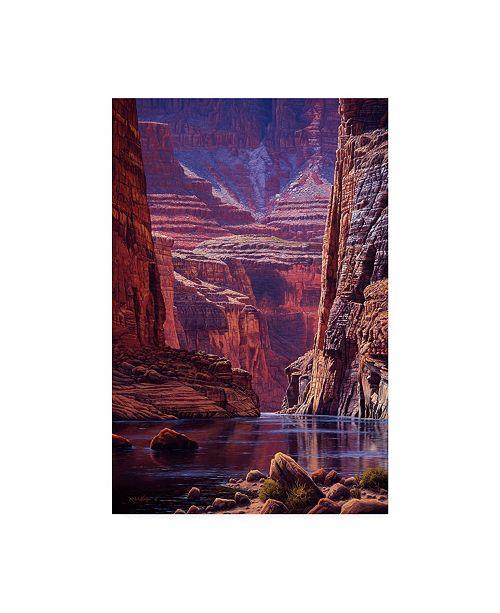 "Trademark Global R W Hedge Higher Light Canvas Art - 19.5"" x 26"""