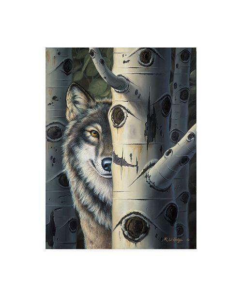 "Trademark Global R W Hedge Disguise Canvas Art - 19.5"" x 26"""