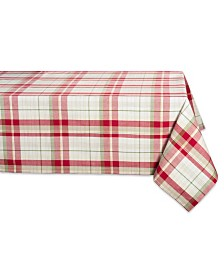 """Design Imports Orchard Plaid Table Cloth 52"""" x 52"""""""