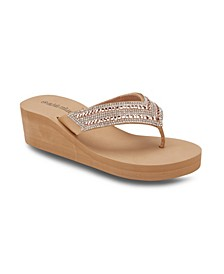 Sugar Magnolia Wedge Sandals
