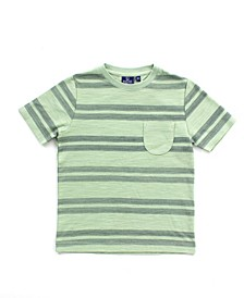 Big and Little Boy Striped Tee
