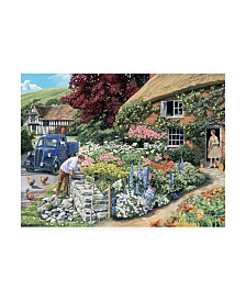 "Trevor Mitchell Drystone Walling Canvas Art - 15.5"" x 21"""