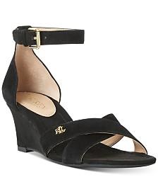 Lauren Ralph Lauren Erinn Wedge Sandals
