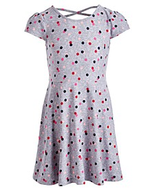 Toddler Girls Dot-Print Dress, Created for Macy's