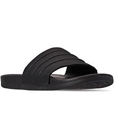 adidas Men's Adilette Comfort Slide Sandals from Finish Line