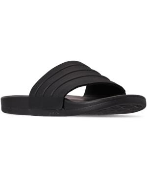 aee5f6c9dd3a1 Adidas Men's Adilette Comfort Slide Sandals From Finish Line in Core  Black/Core Black/Cor