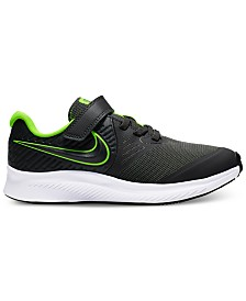 Nike Little Boys Star Runner 2 Stay-Put Closure Running Sneakers from Finish Line