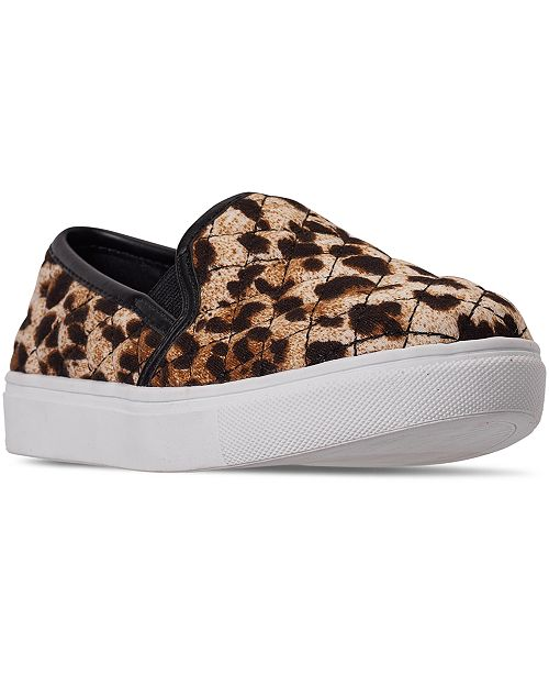 Steve Madden Little Girls JECNTRCQ Slip-On Casual Sneakers from Finish Line