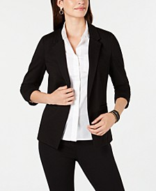 Juniors' Ponte-Knit Blazer