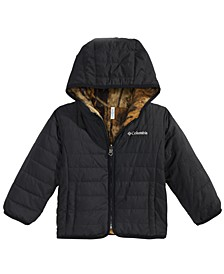 Toddler Boys & Girls Double Trouble Hooded Reversible Jacket