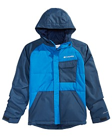 Columbia Big Boys Casual Slopes Hooded Jacket