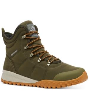 Columbia Boots MEN'S FAIRBANKS OMNI-HEAT WATERPROOF BOOTS MEN'S SHOES