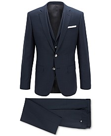 BOSS Men's Slim-Fit Three-Piece Suit