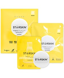 STARSKIN 2-Pc. Glowstar Foaming Peeling Puff Set