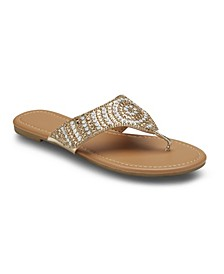 Saved Fav Embellished Sandals