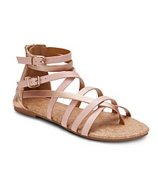 Olivia Miller Modern Romance Two Tone Sandals