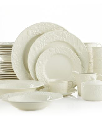 mikasa english countryside 40pc dinnerware set service for 8