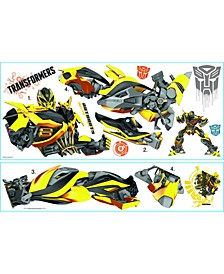 Transformers- Age of Extinction Bumblebee Peel and Stick Giant Wall Decals