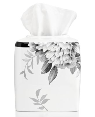 Bath Accessories, Moonlit Garden Tissue Holder