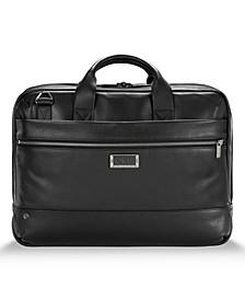 @Work Medium Leather Briefcase